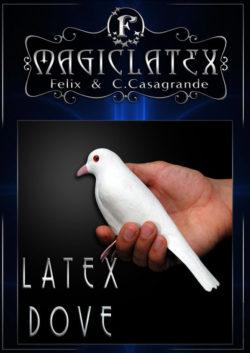 Latex Dove with legs - Magic Latex