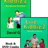 Live Kidbiz 2 – More Funny Magic (Ginn) (Book & DVD)
