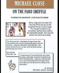 Michael Close On The Faro Shuffle (CD ROM)