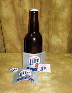 Vanishing Bottles (Norm Nielsen) - Miller Lite