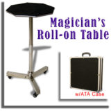 Roll On Table with ATA Case