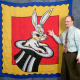 Rabbit In Hat Design Silk (6-foot) - Jumbo Silk