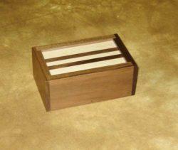 Rattle Box Deluxe Walnut - Viking