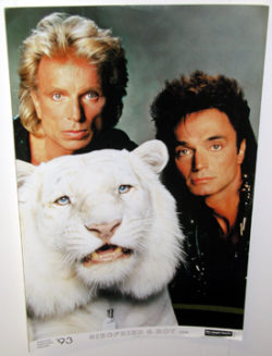 Siegfried & Roy Poster (Magic Hands)