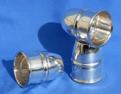 Triple Combo POCKET Silver Cups and Balls - Buma (Exclusive)