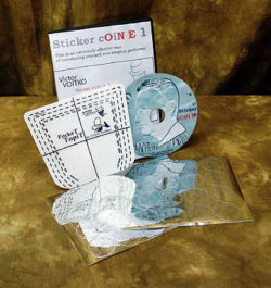Sticker Coin E 1 (Voitko) (DVD & Props)
