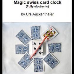 Magic Swiss Card Clock (Urs Auckenthaler)