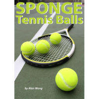 Sponge Tennis Balls (Set of Four)