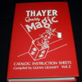 Thayer Quality Magic Catalog Instruction Sheets, Volume 2 (Book)