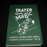 Thayer Quality Magic Catalog Instruction Sheets, Volume 3