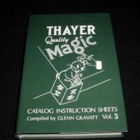 Thayer Quality Magic Catalog Instruction Sheets, Volume 3