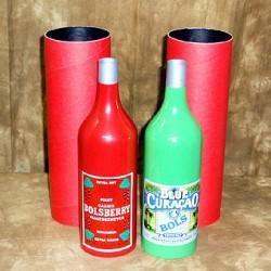Topsy Turvy Bottles