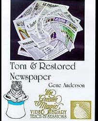Torn And Restored Newspaper - Teach-In Series (DVD)