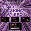 Glass Breaking Tray Pro (Tray and DVD) -Bazar de Magia - Trick