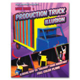Production Truck Illusion by Wayne Rogers - Book (Romhany)