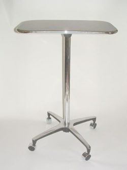 Table - Roll On Convex Chrome - Rich Hill