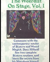 The Weerdist On Stage, Volume I (Hilford) (DVD)