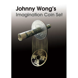 Johnny Wong's Imagination Coin Set (with DVD )