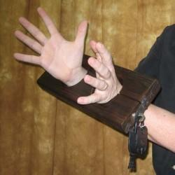 Olde English Wrist Stocks - Louie Gaynor (Stevens Magic Emporium)