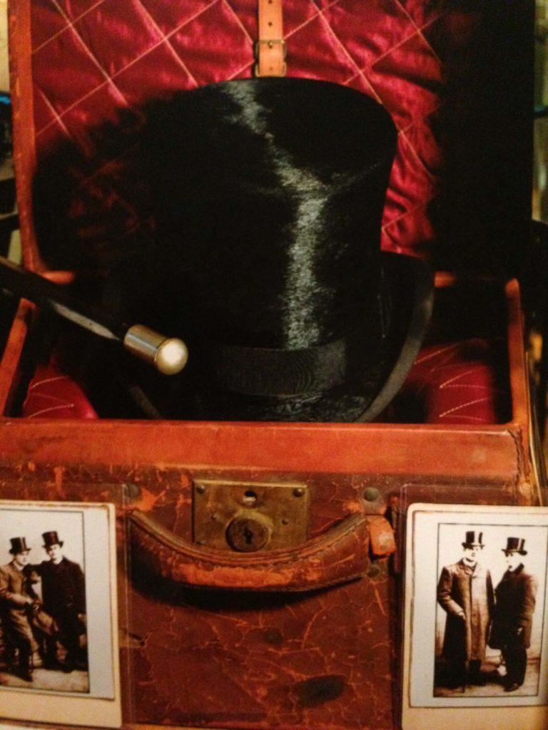 HoudiniTopHatLeatherCaseinitialsinside (HH & EW)