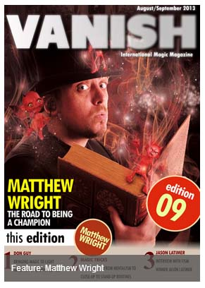 Vanish Magazine - Stevens Magic Emporium
