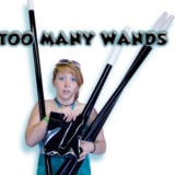 Too Many Wands - Black - Wayne Rogers