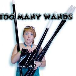 Too Many Wands - Black - Wayne Rogers