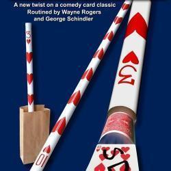 Long Card on a Pole - Wayne Rogers
