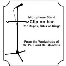 Microphone and Stool Stand Clip