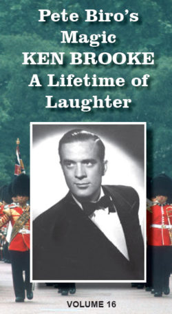 Ken Brooke - A Lifetime of Laughter Book