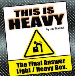 This is Heavy - Jay Mattioli