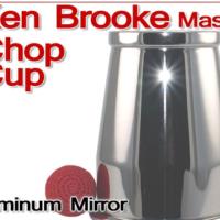 Ken Brooke Chop Cup Aluminum Mirror