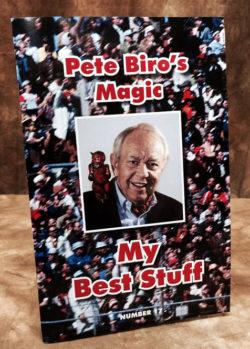 My Best Stuff - Pete Biro Book