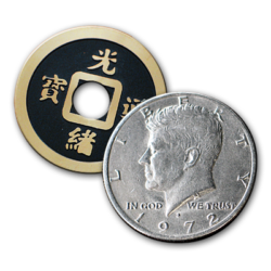 China Town Half Dollar Coin Trick