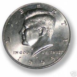 Shimmed Half Dollar Shell