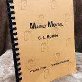 Mainly Mental - C.L. Board