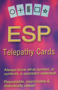 ESP Telepathy Cards