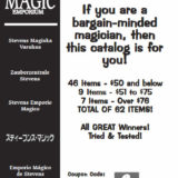 Stevens Magic Emporium PDF Catalog