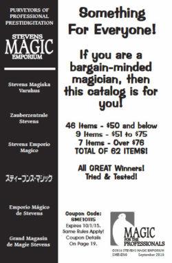 Stevens Magic Emporium PDF Catalog