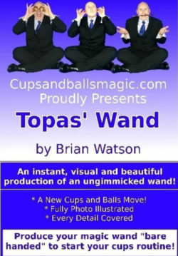 Topas Wand - Brain Watson Magic