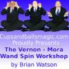Vernon - Mora Wandspin Deluxe Workshop - Brian Watson