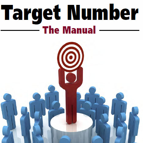 Image result for Target Number: The Manual by Ted Karmilovich