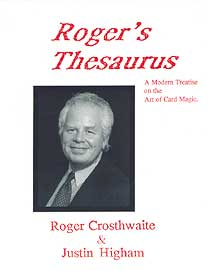 Roger's Thesaurus - Roger Crosthwaite
