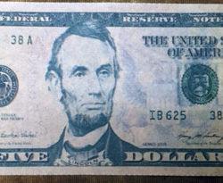Flash Bills - $5 Version