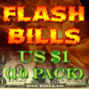 Flash Bills $1 Notes - Panda Magic