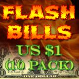 Flash Paper Bills