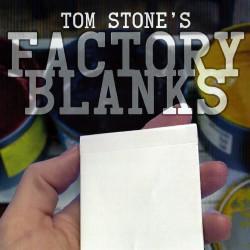 Factory Blanks - Tom Stone