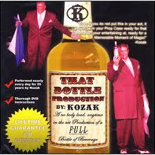 That Bottle Production - Paul Kozak