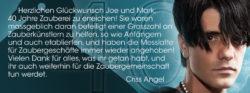 Criss Angel - Stevens Magic