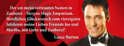 Lance Burton - Stevens Magic